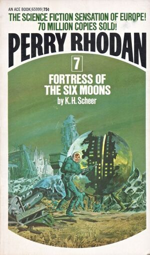 Fortress of the Six Moons (cover) 1972 Ace Books