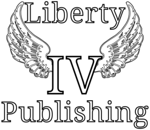 Liberty IV Publishing Vertical with winged IV.png